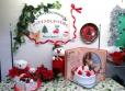 「クリスマス絵本&しかけ絵本」の展示をしています